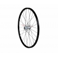 "Front Wheel 1HPR 26"" XC PRO Black / White28r QR"