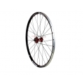 "Front Wheel 1HPR 26"" XC PRO Carbon Red 28h QR"