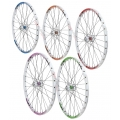 "1HPR 26"" Enduro Expert QR White Front Wheel (Colors)"