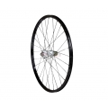 "Rear Wheel 1HPR 26"" XC PRO Black White 28h QR"
