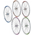 "1HPR FreeRide EXPERT 24"" White/Blue Front Wheel (Colors)"