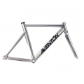 Frame bicycle Fixie Aventon Mataro Silver Polished
