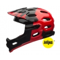Casco Bell SUPER 2R MIPS Rojo (Desmontable)