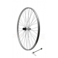 "V-brake 26"" 7speeds cassetteRear wheel for quick release"