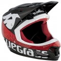 Casco Integral Bluegrass Brave Negro/Rojo