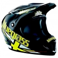 Casco Integral Bluegrass Brave Jack Negro/Amarillo