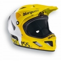 Casco Integral Bluegrass Brave Amarillo Blanco