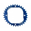 ChainRing Bpart Components Oval 32 teeth 104 BCD Dark Blue Customizable