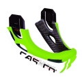 Mentonera Cas-co Desmontable viper mx Verde