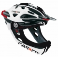 Casco Desmontable CAS-CO Viper MX Blanco/Rojo con mentonera