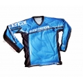 DH T-Shirt Commençal Best Langarm Trikot Blue