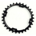 First CNC Chainring 30 teeth Black