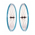 "Pair Fixie FK Wheels Blue 700"" with braking-side"