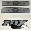 Kit Pegatinas Adhesivos Horquilla Fox Float 32 Fit RL Blanco 10