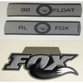 Kit Pegatinas Adhesivos Horquilla Fox Float 32 Fit RL Titanium 10