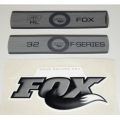 Kit Pegatinas Adhesivos Horquilla Fox 32 Fit RL F-Series Blanco 2010