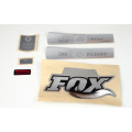 Kit Pegatinas Adhesivos Horquilla Fox Float 36 Fit RC2 Gris 10