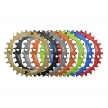 Narrow Funn Solo Chainring 1x10 o 1x11 - 30 teeth Red