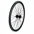 "Pair Wheels Fixie 700"" Fixed Black + Free Spoke + Spoke + Lockring"