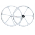 "Wheelset Sticks Fixie 700"" White Blue Flip - Flop"