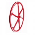 "Wheelset Sticks Fixie 700"" White Red Flip - Flop"