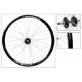 "Fixie Front Wheel 700"" DP18 Black Matte With profile"