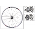 "Fixie Rear Wheel 700"" Silver With profile DP18"