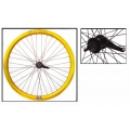 "Fixie Rear Wheel 700"" Origin 8 With Coaster Brake Hub Gold"