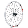 "Gurpil Disc Bull Front Wheel 26"" White (20mm axle)"