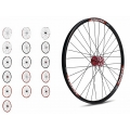 "Gurpil Front Wheel 26"" MTB Taurus Hub Gurpil Disc (Color)"