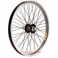 "BMX Rear Wheel  20"" ZAC 48s 14mm Black"