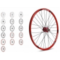 "Gurpil Rear Wheel 26"" MTB Taurus Hub Gurpil Disc 8-9s (Colors)"