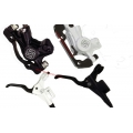 Gusset Hydraulic Disc Brake Black / White