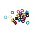 Wheel Nuts Halo M14 (many colors)
