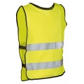 Cyclist Reflective Vest Fluorescent Yellow