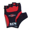 Guantes Cortos M-wave Gel Touch Rojo