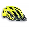 Casco Met Crossover 2014 Amarillo