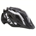 Casco Met Crossover Negro Antracita