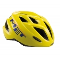 Casco Met Gamer Amarillo