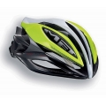 Casco carretera Met Sine Thesis Amarillo Blanco