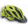 Met Crossover Helmet Yellow Matte 2015