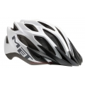 Casco Met Crossover Blanco Mate T-52/59cms