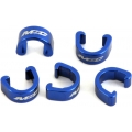 Clips sujetacables MSC Azul (Pack 5)