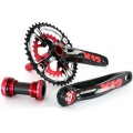 Bielas MSC Integradas X12 ALS XC-Trail Rojo 39-26D
