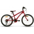 "Bicicleta Megamo 20"" OPEN JUNIOR BOY Rojo Negro"