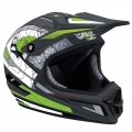 Casco Integral Bluegrass Intox Race Negro/Verde 2012