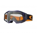 Máscara MX Oakley AirBrake Blue Orange Retro Speed