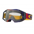 Máscara MX Oakley AirBrake Hyperdrive Red Blue