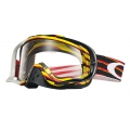 Goggles MX Oakley Crowbar Nemesis Red Yellow