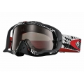 Máscara MX Oakley Crowbar Podium Check Red / Black